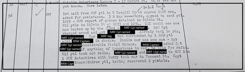 MRF shooting 26th May 1972 Silvio Street