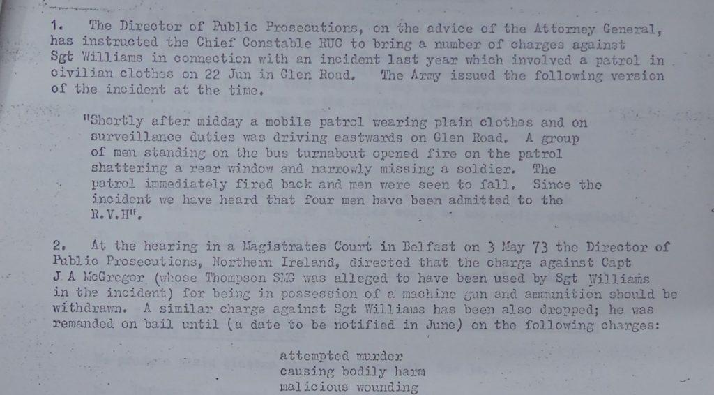 MRF shooting 22nd June 1972