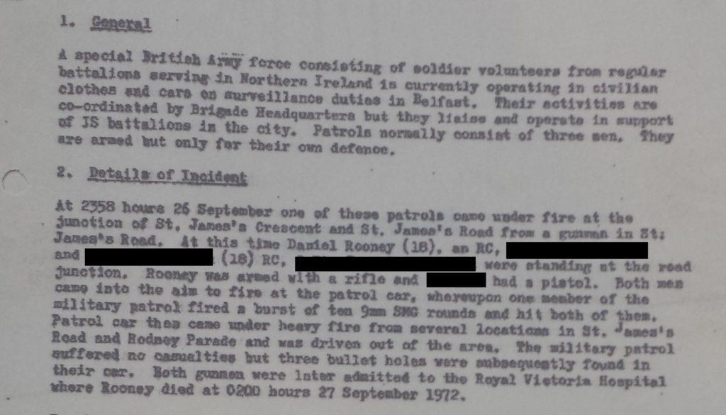 MRF shooting 26th Sept 1972