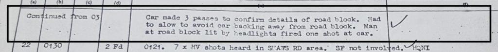 MRF shooting 13th May 1972 Slievegallion