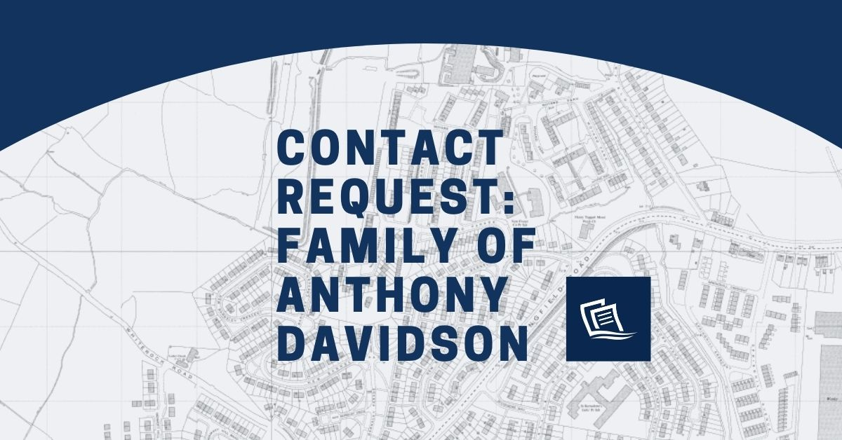 Anthony Davidson Family Contact Request