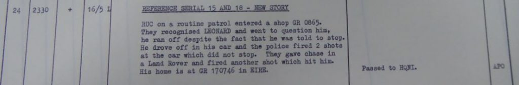 39 Brigade Operations Log, May 1973 - NEW STORY