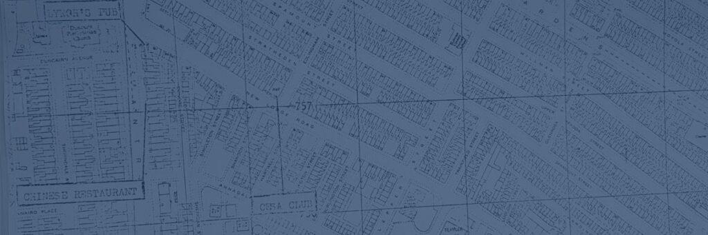 New Lodge Six Map 1973