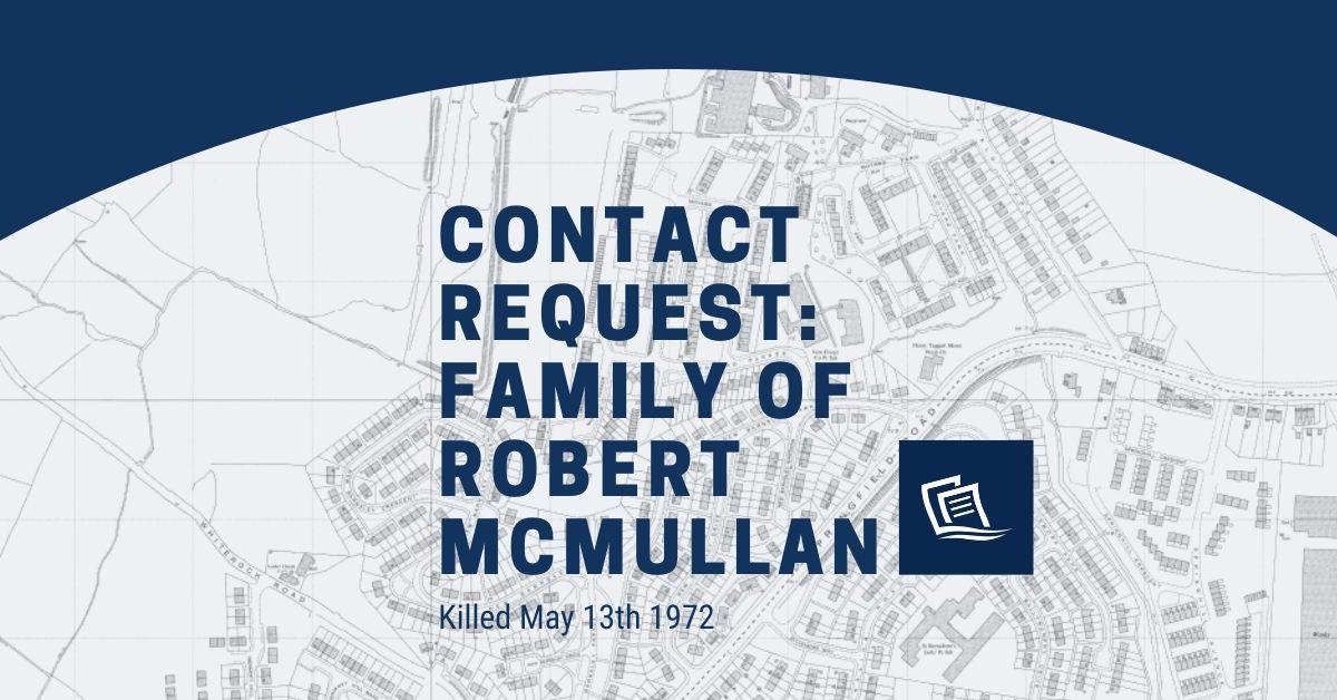 Robert McMullan Contact Request