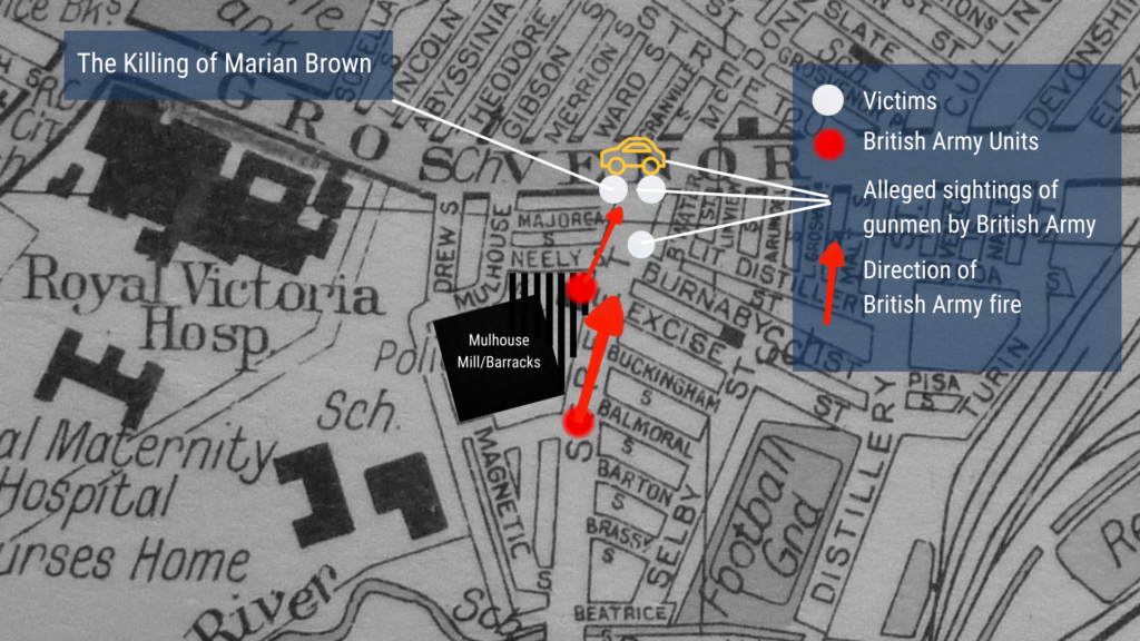The Killing of Marian Brown and the British Army's Mulhouse Shooting